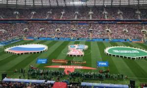 Παγκόσμιο Κύπελλο Ποδοσφαίρου 2018: Φαντασμαγορική τελετή έναρξης στη Ρωσία (photos)