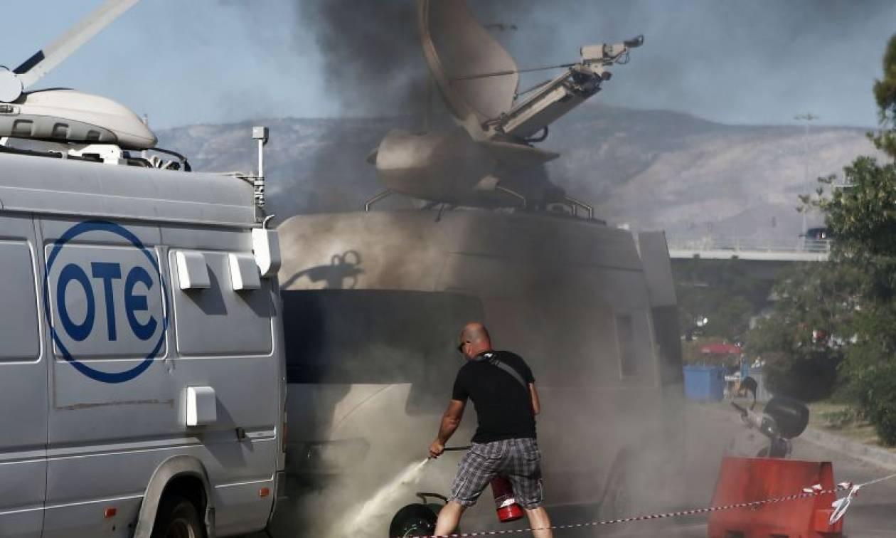 Βίντεο από την «κόλαση» του ΣΕΦ: Μολότοφ, φωτιές και βίαια επεισόδια πριν από τον τελικό