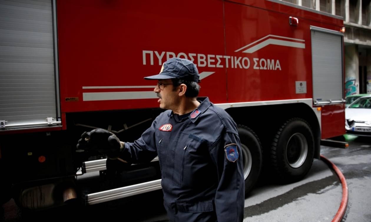 Φωτιά ΤΩΡΑ στο κέντρο της Αθήνας