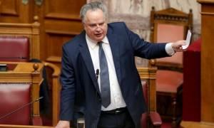 Αντεπίθεση Κοτζιά: Φέρνει στη Βουλή αποχαρακτηρισμένα έγγραφα του ΥΠΕΞ για το Σκοπιανό