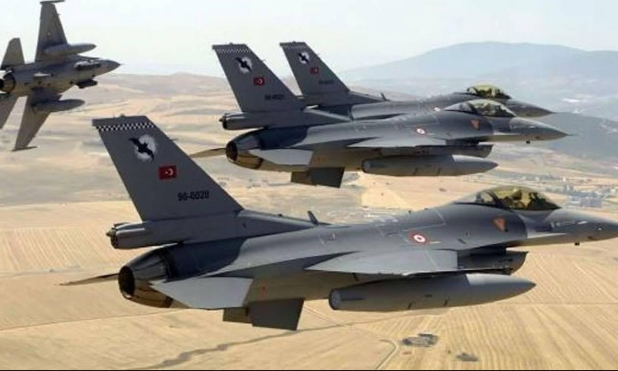 Νεκροί 26 αντάρτες του PKK από τουρκικές αεροπορικές επιδρομές στο βόρειο Ιράκ