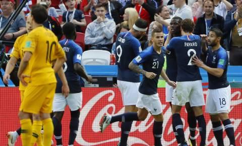 Παγκόσμιο Κύπελλο Ποδοσφαίρου 2018: Γαλλία - Αυστραλία 2-1 - Με το δεξί και… άγχος οι «μπλε (photos)