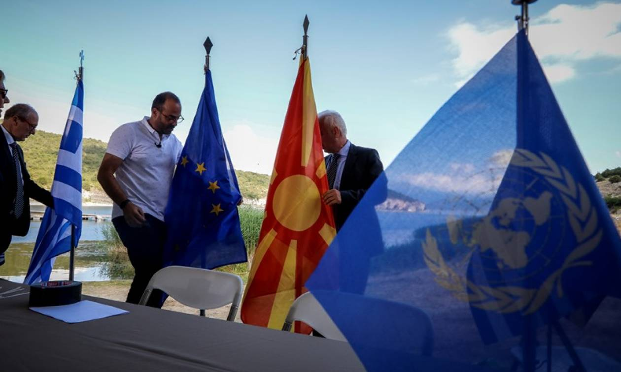 Live - Πρέσπες - Τσίπρας: Καταλήξαμε σε μία αμοιβαία επωφελή συμφωνία