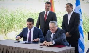 Νέα εποχή από τις Πρέσπες για το Σκοπιανό - «Έπεσαν» οι υπογραφές