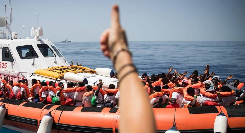 Aquarius: Έφθασαν στο λιμάνι της Βαλένθια  οι πρώτοι από τους 630 μετανάστες