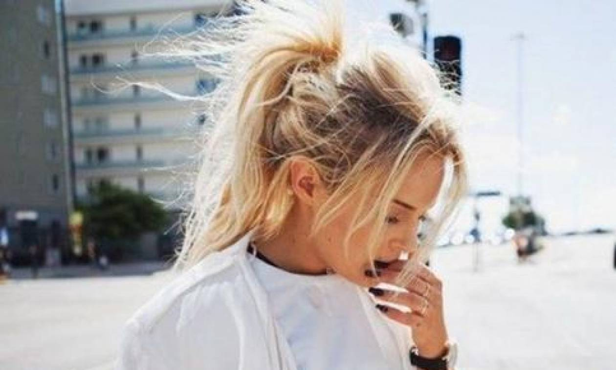 Τα ponytails του καλοκαιριού στην street εκδοχή τους