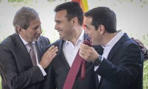 Τσίπρας για τη γραβάτα του Ζάεφ: «Θα τη φορέσω όταν πρέπει, ελπίζω σύντομα» (vid)