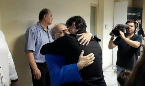Συγκίνηση με Δημήτρη και Θανάση Γιαννακόπουλο (video)