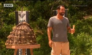 Survivor 2: Ο Τανιμανίδης ανακοίνωσε το έπαθλο άνεσης «παγώνοντας» τους παίκτες