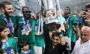 Ο Δημήτρης αφιέρωσε το πρωτάθλημα στον Παύλο Γιαννακόπουλο (photos)