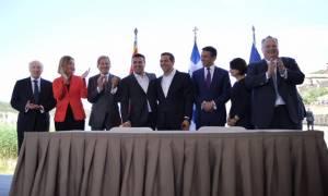 Γερμανικό Πρακτορείο: Η συμφωνία για το όνομα εξόργισε τους εθνικιστές και στις δύο πλευρές