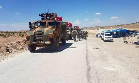 Ο τουρκικός στρατός περικύκλωσε την πόλη Μάνμπιτζ στη Συρία