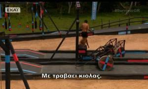 Survivor 2: Ένταση κατά την διάρκεια του αγωνίσματος- Η κίνηση του Τσίλη εκνεύρισε τον Αγόρου