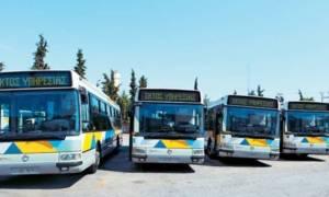 Сегодня и завтра в Афинах бастуют городские автобусы