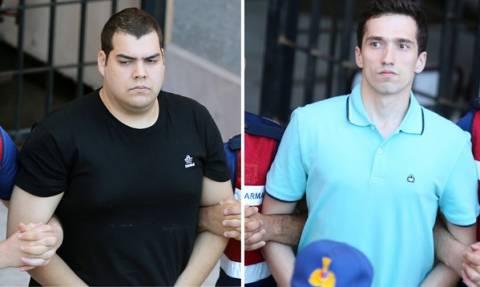 Απορρίφθηκε και το νέο αίτημα αποφυλάκισης των δύο Ελλήνων στρατιωτικών (pics+vid)