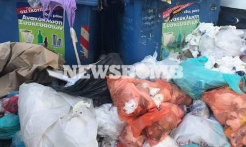 Σε κλοιό σκουπιδιών η Αθήνα - Αποκατάσταση του ΧΥΤΑ την Πέμπτη υπόσχεται ο ΕΔΣΝΑ