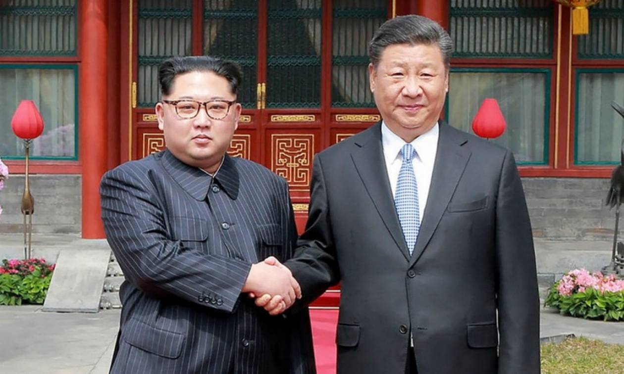 Κιμ Γιονγκ Ουν και Σι Τζινπίνγκ διαμόρφωσαν κοινή θέση για το ζήτημα της αποπυρηνικοποίησης