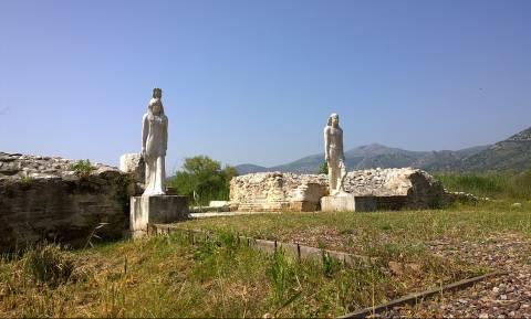 Άγνωστοι βανδάλισαν το ιερό των Αιγυπτίων Θεών στον Μαραθώνα