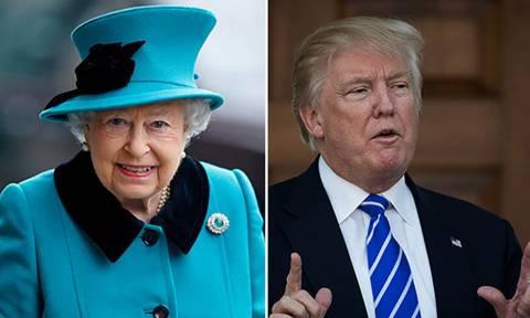 Βρετανία: Ο Τραμπ θα συναντηθεί με τη βασίλισσα Ελισάβετ