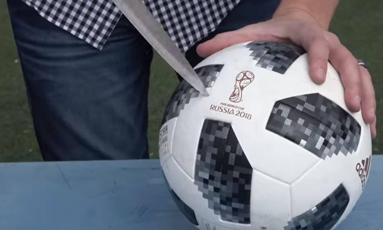 Μουντιάλ 2018: Δείτε τι έχει μέσα η μπάλα της διοργάνωσης! (απίστευτο βίντεο)