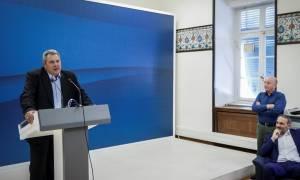Καμμένος: Με θυσίες του ελληνικού λαού η χώρα βγαίνει από τα Μνημόνια