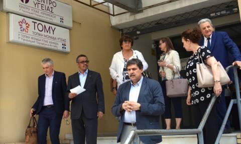 Πρωτοβάθμια υγεία και προσφυγικό ιεραρχεί ο Παγκόσμιος Οργανισμός Υγείας στην Ελλάδα