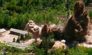 Βόρεια Κορέα: Ο Κιμ Γιονγκ Ουν ανατινάζει τις εγκαταστάσεις πυρηνικών δοκιμών
