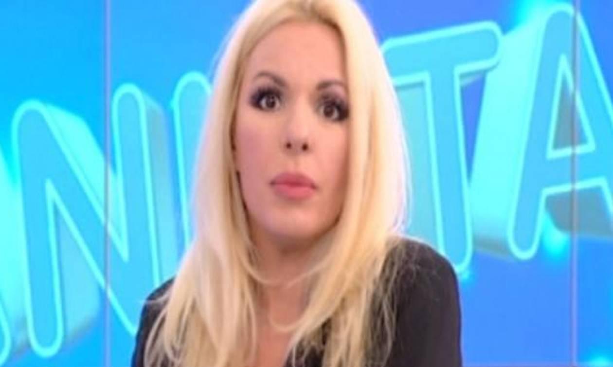 Το ξέσπασμα της Πάνια στον αέρα: «Να πω ότι χαίρομαι που έρχομαι εδώ και κάνω εκπομπή; Δεν χαίρομαι»