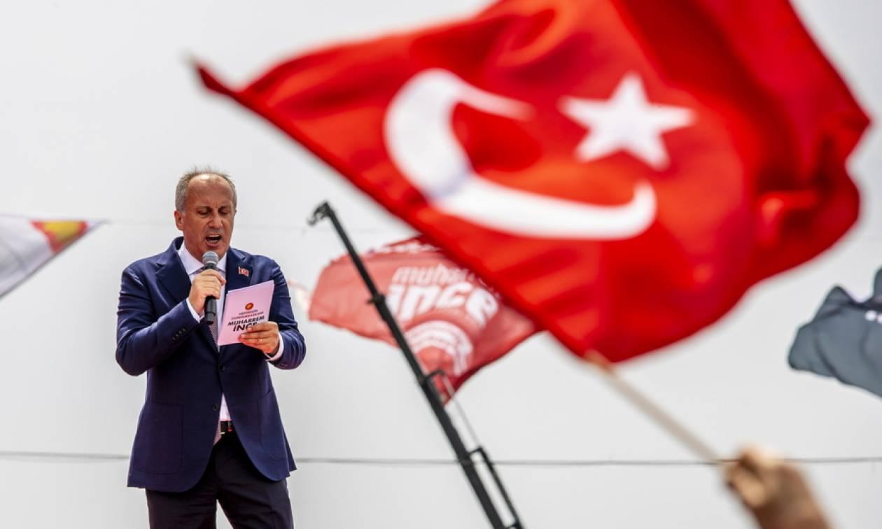 Τουρκία Εκλογές: Ο «Θεσσαλονικιός» Ιντζέ προειδοποιεί για ενδεχόμενη νοθεία από τον Ερντογάν