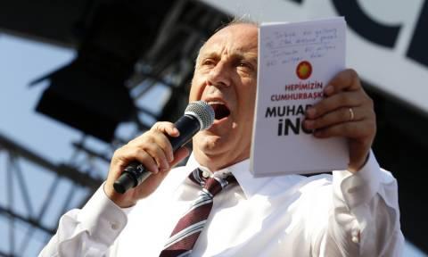 Τουρκία Εκλογές: Έξαλλος ο Μουχαρέμ Ιντζέ – Καταγγέλλει ότι τα αποτελέσματα είναι «στημένα»