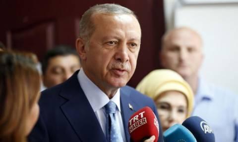 Τουρκία: Πανηγυρική ομιλία Ερντογάν για τον θρίαμβο στις εκλογές (Vid)