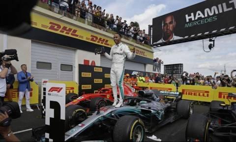 Formula 1: Χωρίς αντίπαλο Χάμιλτον και Mercedes στη Γαλλία