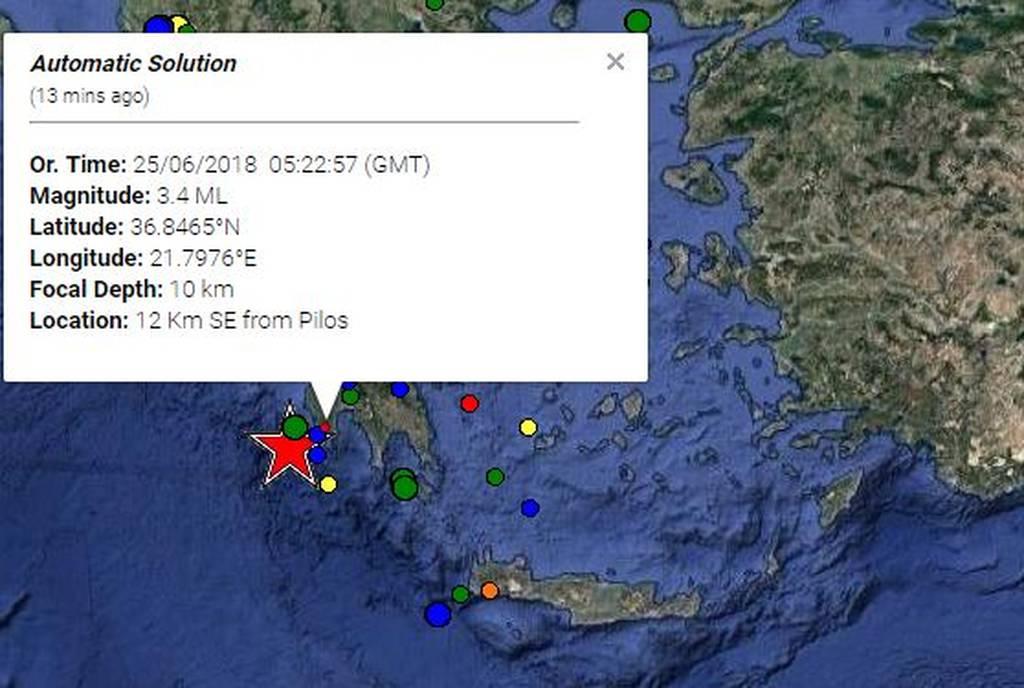 Σεισμός: Στο «χορό» των Ρίχτερ η Ελλάδα - Ο Εγκέλαδος «χτύπησε» σε Θεσσαλονίκη και Πύλο