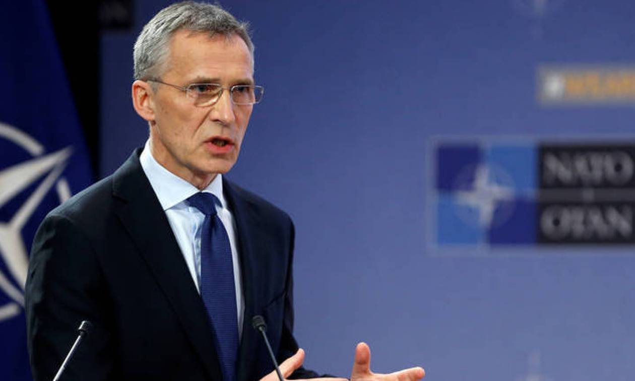 Στόλτενμπεργκ: Μόνο με επικύρωση της συμφωνίας η ένταξη των Σκοπίων στο ΝΑΤΟ