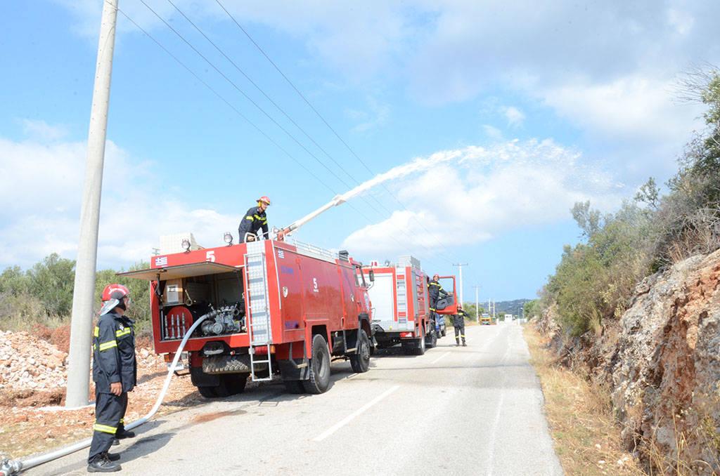 «Συναγερμός» στο Ναύσταθμο Κρήτης (pics)