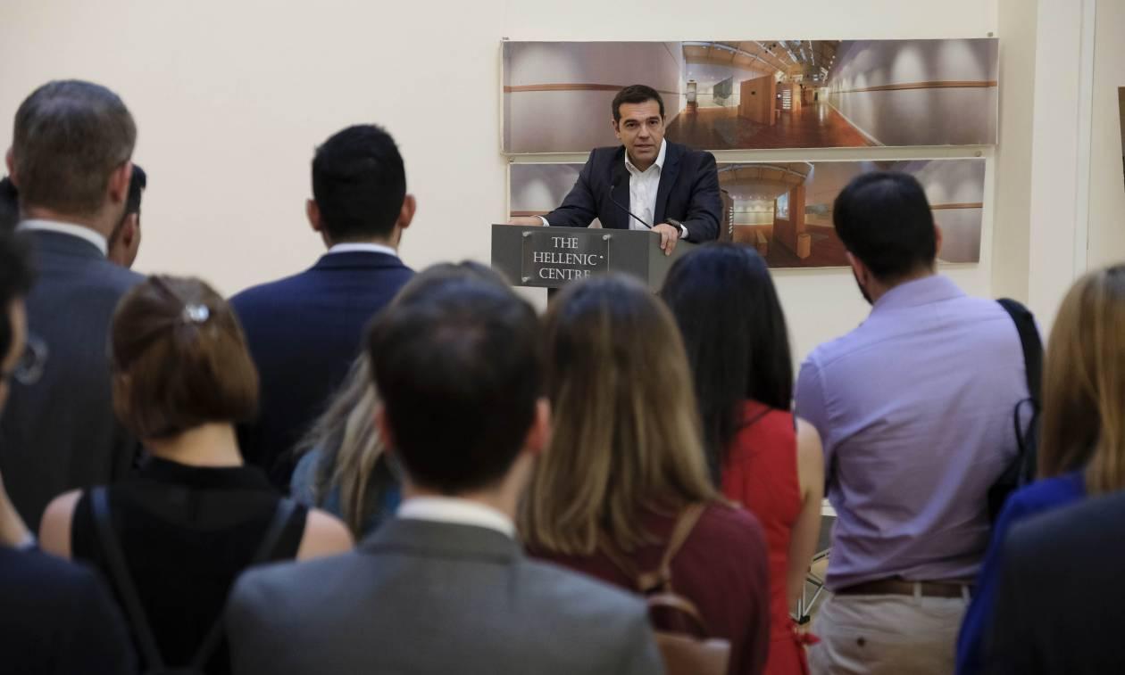 Κρίσιμες επαφές Τσίπρα με οικονομικούς παράγοντες στο Λονδίνο