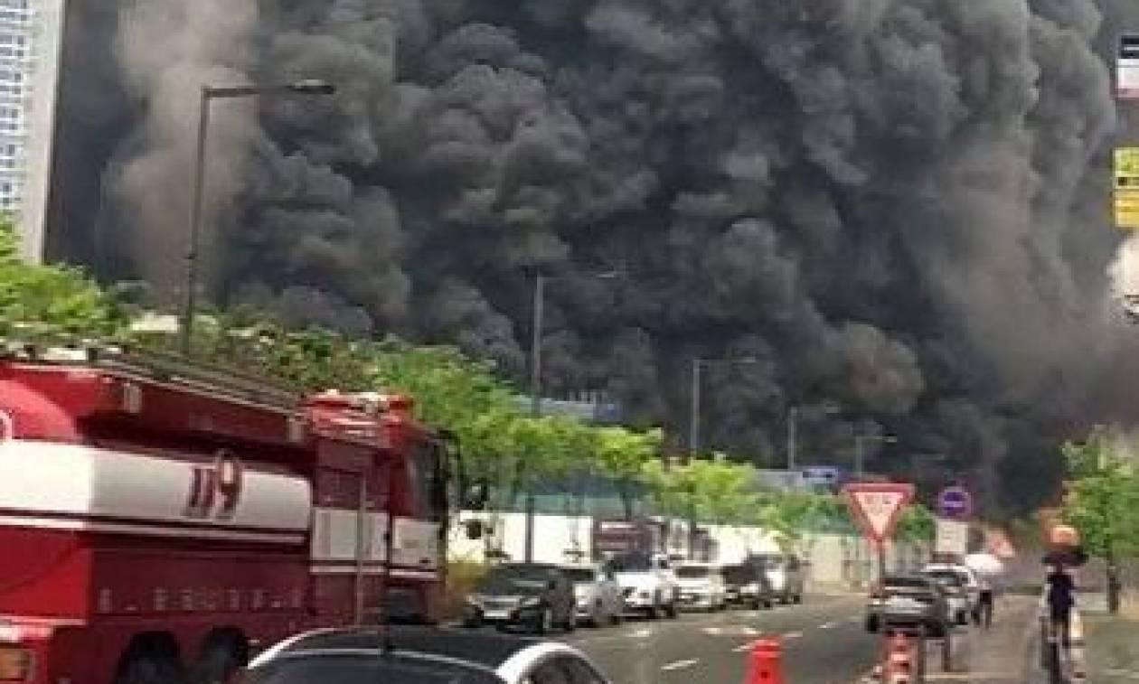 Νότια Κορέα: 3 νεκροί και 37 τραυματίες από πυρκαγιά σε ουρανοξύστη (pics)