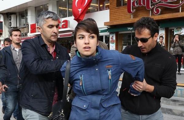 turkey arrest protest teacher purge