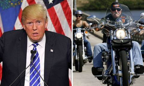 «Μύδροι» Τραμπ κατά της Harley - Davidson (Pics+Vid)