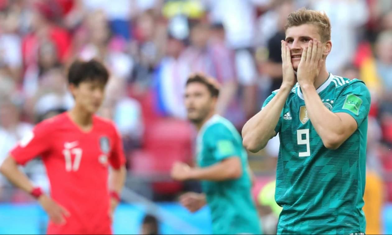 Παγκόσμιο Κύπελλο Ποδοσφαίρου 2018: Ν. Κορέα-Γερμανία 2-0: Κάζο και αποκλεισμός!