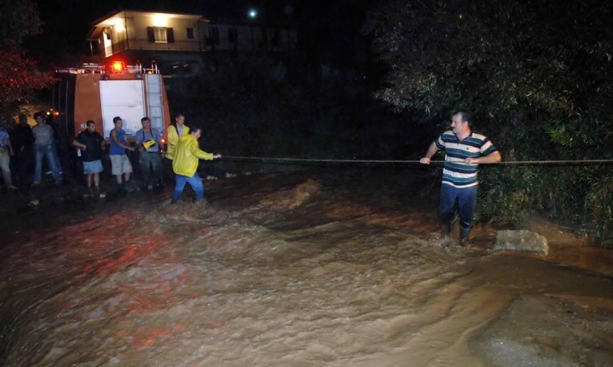Θεσσαλονίκη: Έσπασε φράγμα και πλημμύρισαν χωριά στο Στρυμωνικό - Κινδύνεψαν άνθρωποι