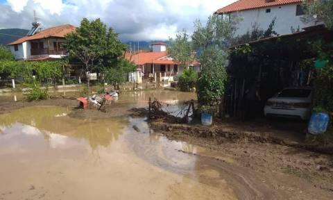 Θεσσαλονίκη: «Πνίγηκαν» Σταυρός και Βρασνά - Εικόνες βιβλικής καταστροφής (pics)