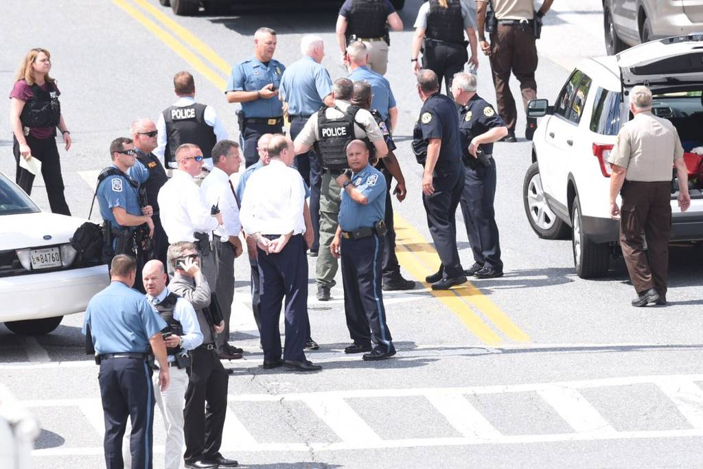 Συναγερμός στο Μέριλαντ: Ένοπλη επίθεση σε γραφεία εφημερίδας - Πληροφορίες για πολλούς νεκρούς