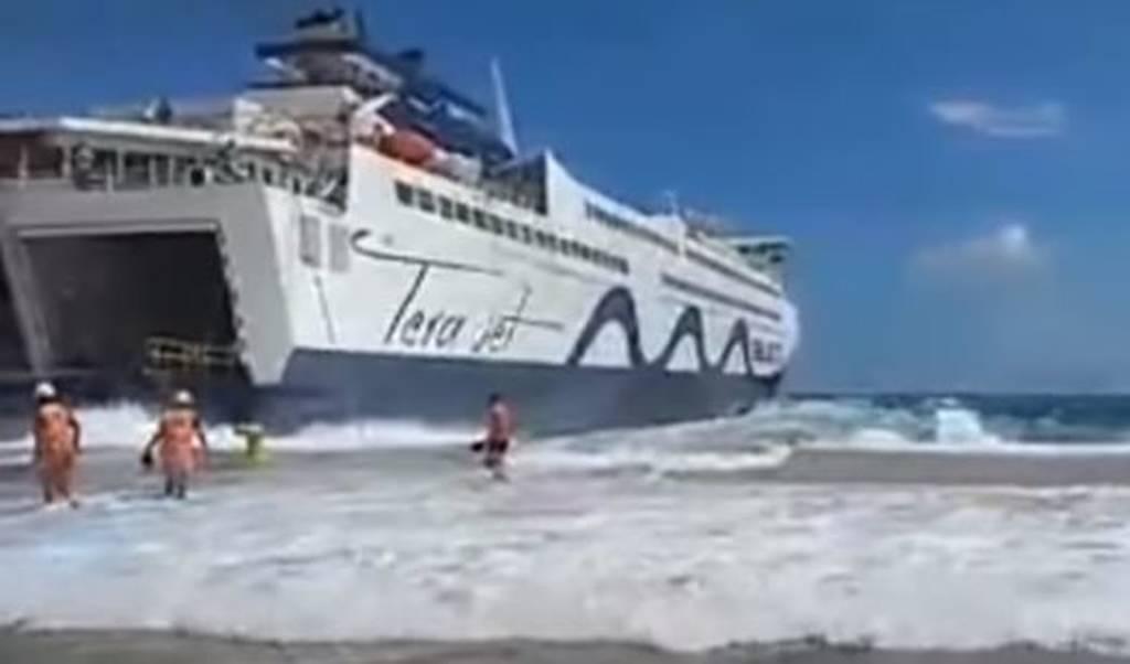 Τήνος: Ένα από τα πιο τρομακτικά βίντεο που έχετε δει ΠΟΤΕ – Η μάχη του πλοίου με τα κύματα