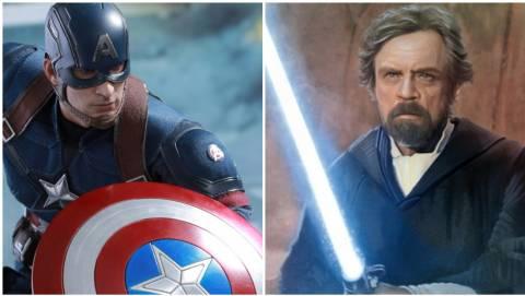 Αυτή είναι κόντρα: Marvel εναντίον Star Wars!