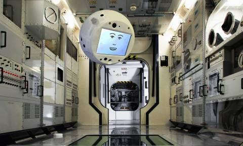 Στον Διεθνή Διαστημικό Σταθμό ο ιπτάμενος «εγκέφαλος» Cimon (Vid)