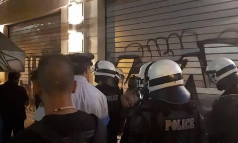 Θεσσαλονίκη: Αλλοδαπός επιτέθηκε με μαχαίρι σε άτομα που διαδήλωναν για τη Μακεδονία (vid)