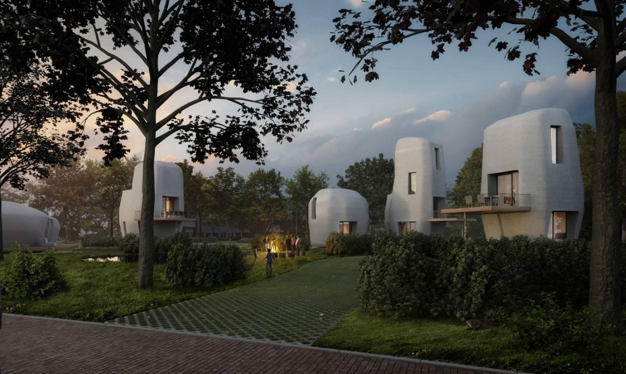 Ολλανδία: Η Αιντχόβεν η πρώτη πόλη του κόσμου που θα αποκτήσει 3D κατοικίες (vid)