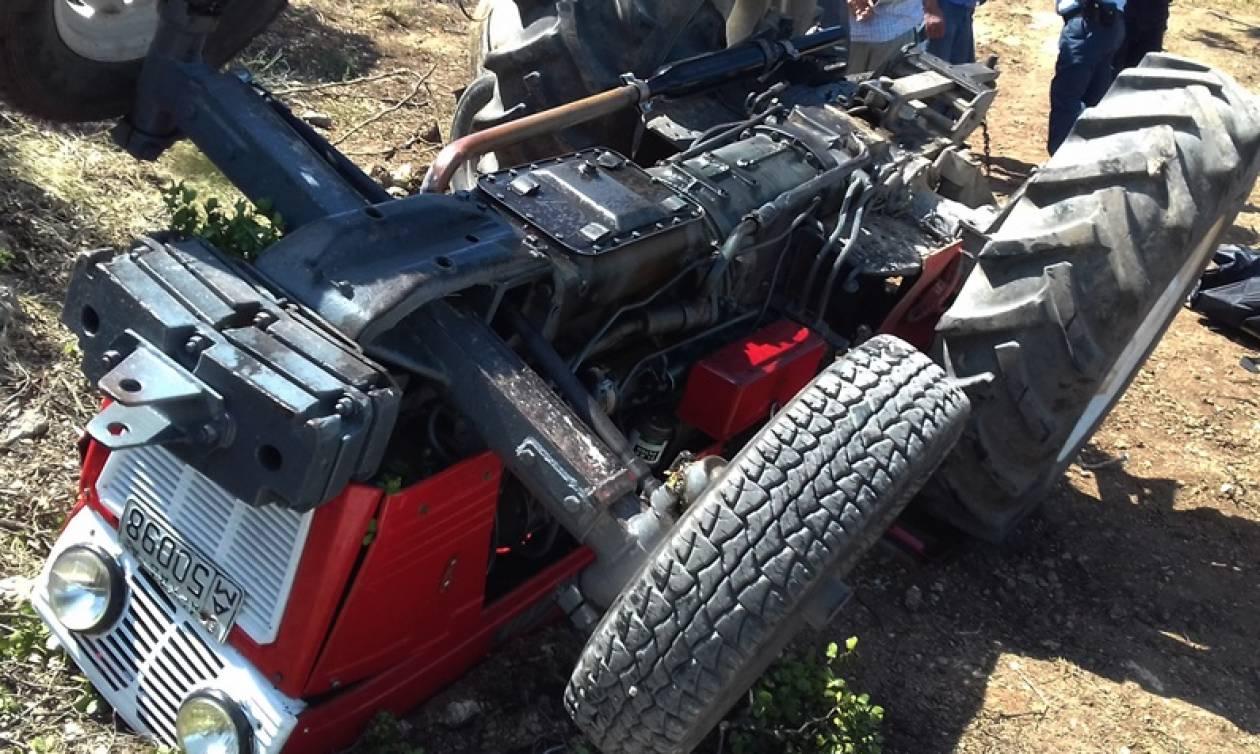 Πέλλα: Φρικτός θάνατος αγρότη - Καταπλακώθηκε από το τρακτέρ του