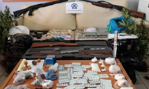 Αστυνομική έφοδος σε καταυλισμούς Ρομά - Τι έφεραν στο φως οι έρευνες (pics&vid)
